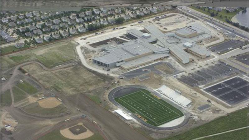 Metea Valley High School Sullivan Roofing