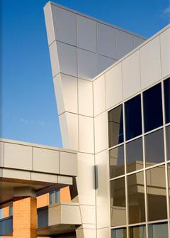 Chanooka Healthcare Center Composite Wall Panels